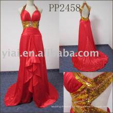 2011 новое прибытие высокого качества бесплатная доставка милая бисером платье PP2458