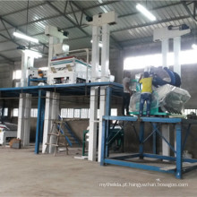 Planta de processamento de grãos de café seco de soja