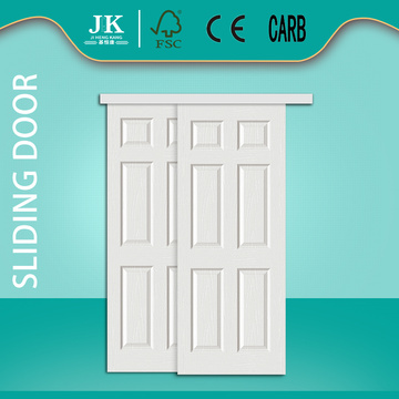 JHK-006 6 Panel Sliding Closet Doors Bypass Door