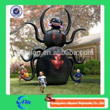 8 pés preto ar inflável cor para venda