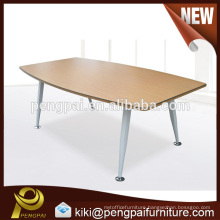 Office conference table simple oval meeting table made in China 01
