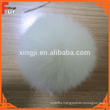 Rabbit Fur Pom Pom Ball