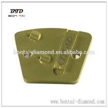 Trapezoid doble cuarto redondo PCD