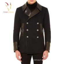 Mode chaud vendre homme manteaux de laine et vestes en cachemire