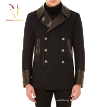 Fashional hot sell man cashmere wool coats and jackets