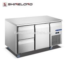 FURNOTEL Tiroir de luxe Réfrigérateur Liste de prix 1-Porte 2-Tiroir Sous-Comptoir Réfrigérateur FRUC-8-1