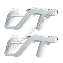 White Zapper Gun For Nintendo Wii Remote Wiimote Controller