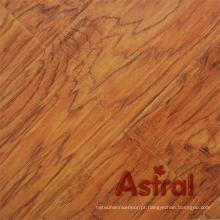 Textura de madeira real registrada (sulco grande de U) revestimento laminado (AY7011)