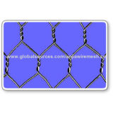 Hexagonal Woven Wire Mesh by Iron Wire or PVC Coated Iron Wire, with CE and SGS MarksNew