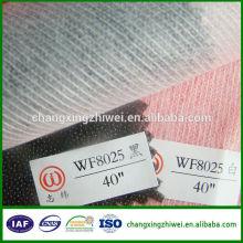 fabricación de hilo de poliéster en China para la producción de entretelas no tejidas para productos de pavo