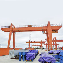 type double girder gantry crane 50 ton for container