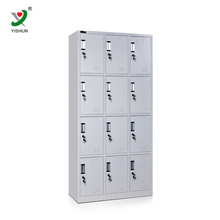 12 door school cloth locker cabinet