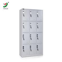 12 compartimentos multi-porta usado armário de armazenamento de aço