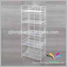 Chinese New sytle customized cheap metal rack laundry basket