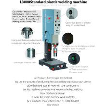 Máquina de solda por pontos ultra-sônico para fixação do punho do saco