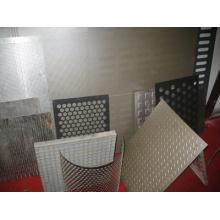 PVDF Perforierte Metallverkleidungsplatten / perforierte Metallplatten