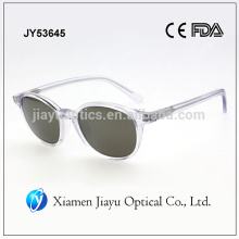 transparent frame ladies fashion acetate sunglass