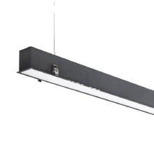 Commercial aluminum wall bar office supermarket trunking ceiling pendant flexible led linear lighting fixture