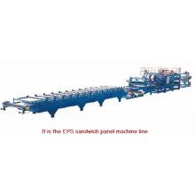 Sandwich-Plattenformmaschine