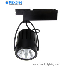 40W 3200lm Luminus COB LED Track Light