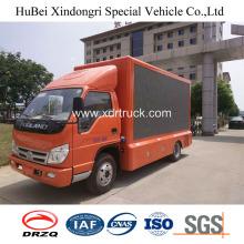Φορτηγό διαφήμισης Foton Νέο μοντέλο