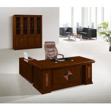 Mesa de madera Oficina Mesa ejecutiva Mesa de gerente Izquierda Derecha Return Manager Mesa Muebles de oficina