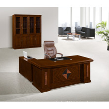 Wooden Panel Office Executive Table Manager Desk Left Right Return Manager Table Office Furniture