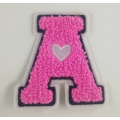 Wholesale Custom Letters chenille patches designs