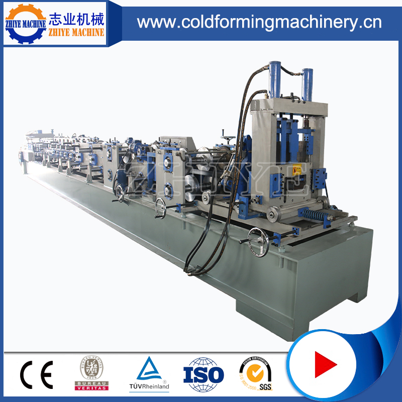 Muti Sized Auto Changeable C Purlin Roll Forming Machine