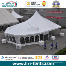 20X40 Outdoor High Peak Aluminium Rahmen Zelt mit Kirche Fenster zum Verkauf