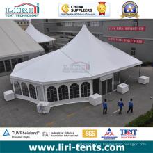 20X40 tente extérieure en aluminium de cadre de pointe avec la fenêtre d'église à vendre