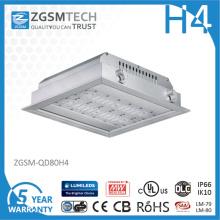 O posto de gasolina do diodo emissor de luz de Zgsm 80W ilumina luzes de teto do diodo emissor de luz 40W-200W