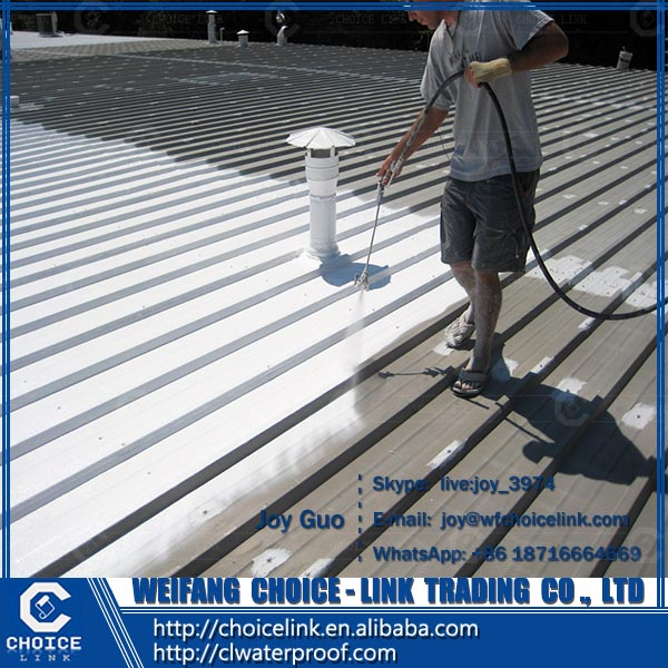spraying paint quick-setting rubber bituminous waterproofing coating