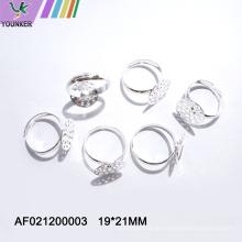 Minimalistischer runder kupferner Metallring