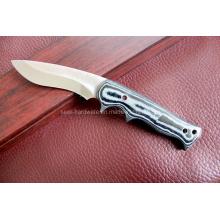 Couteau fixe à poignée en bois (SE-S990)