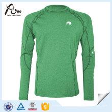 Diseño de moda para hombre Camisas al por mayor desgaste de la aptitud