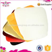 Venda por atacado Qingdao Sinofur barato OEM útil almofada de cadeira de banquete macia e dura para assento