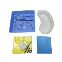 Paquets chirurgicaux jetables à la vasectomie stérile