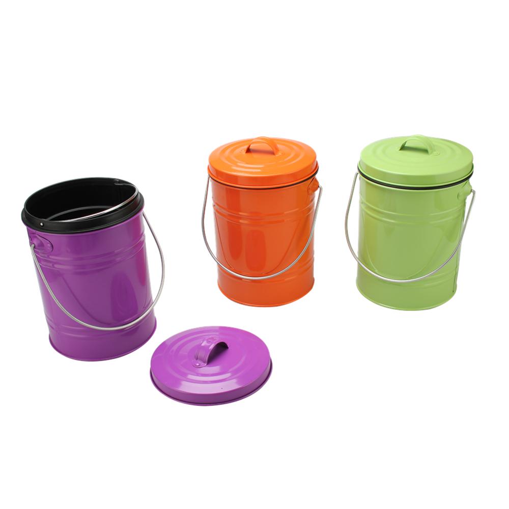 Multicolor Compost Pail
