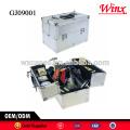 Caja de herramienta case duro 2015 China, caja de herramienta de aluminio con 4 bandejas de plástico dentro de