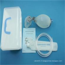 Réanimateur pédiatrique en silicone solide