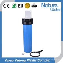 Großer blauer Wasserfilter