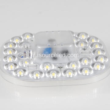 Plafond blanc froid 10w led modules circulaires