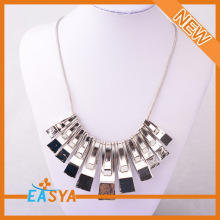 Silver Metal Chain Necklace Hot sale Metal Necklace