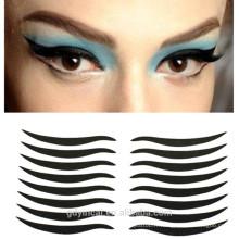 Autocollant faux de tatouage d'oeil non-toxique d'eye-liner personnalisé pour la décoration de maquillage