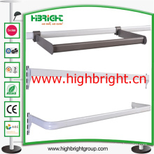 Steel Tube Metal Hanging Bar Steel Bar Holder for Shelves