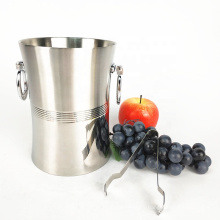high quality barware 3 gallon stainless steel ice beer bucket for bar
