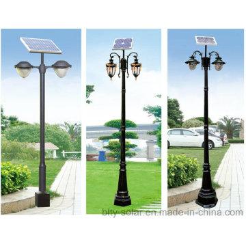 IP66 LED Solar Garden Lighting Pole Light 10W 12V