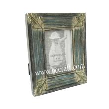 Cadre photo en bois Gesso / Compo pour décoration intérieure