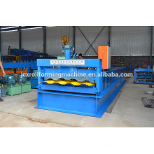 Steel car board panel forming machine